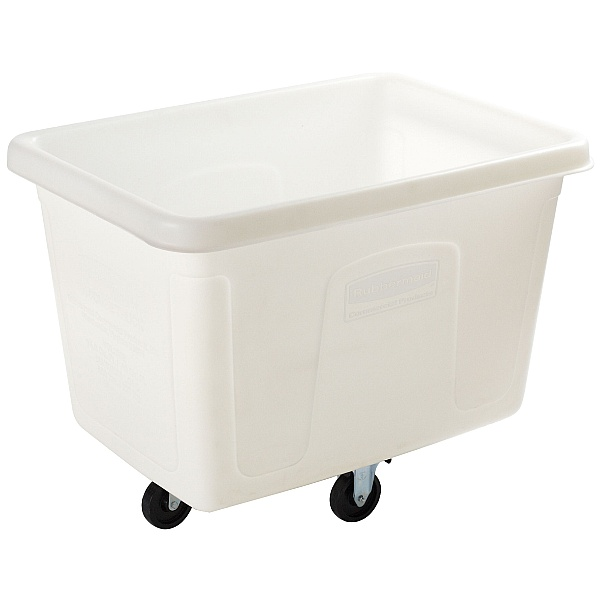 Rubbermaid White Cube Trucks