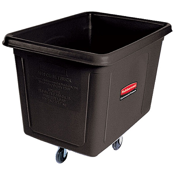 Rubbermaid Black Cube Trucks