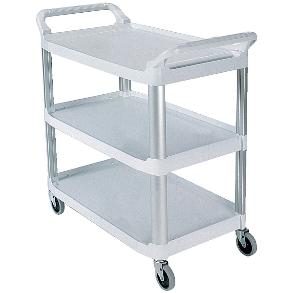 X-tra Utility Trolley with 3 Open Shelves