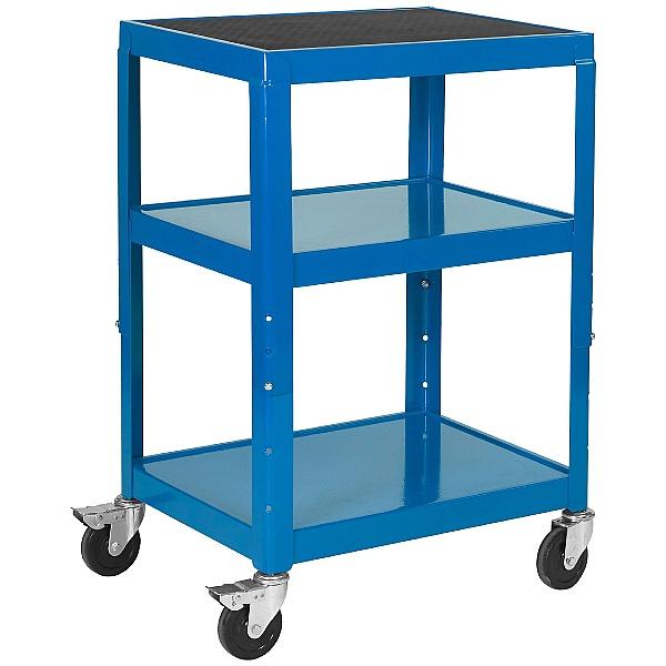 Adjustable Height Tray Trolleys