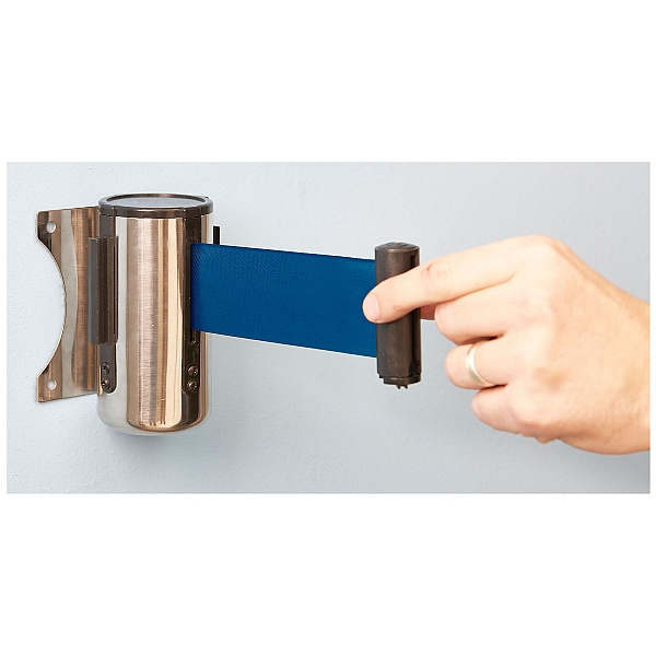Wall Mounted Retractable Belt Barrier