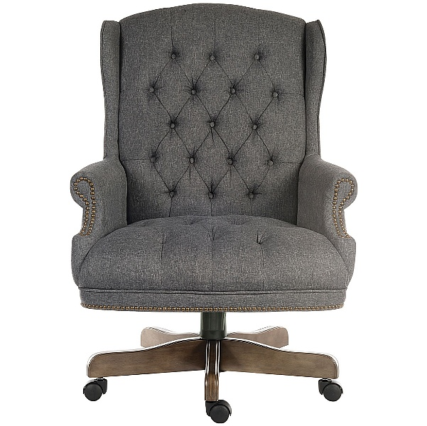 Chairman Grey Traditional Manager Chair