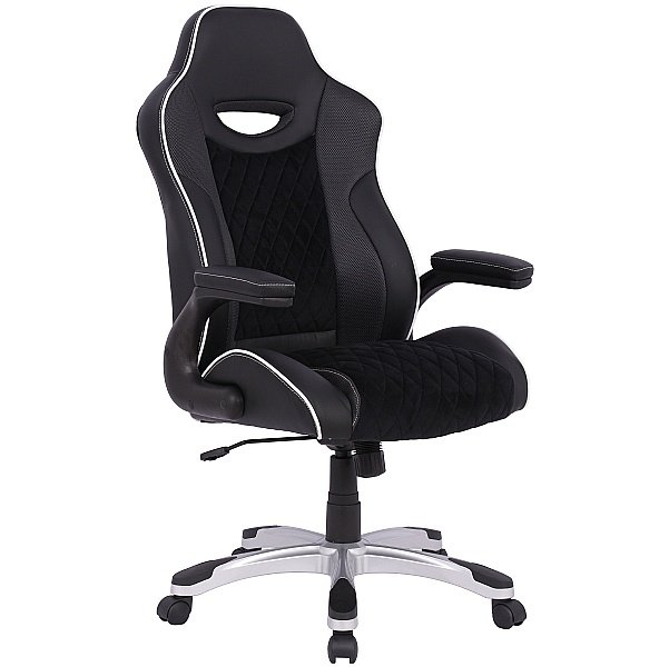 Silverstone Faux Leather Office Chair