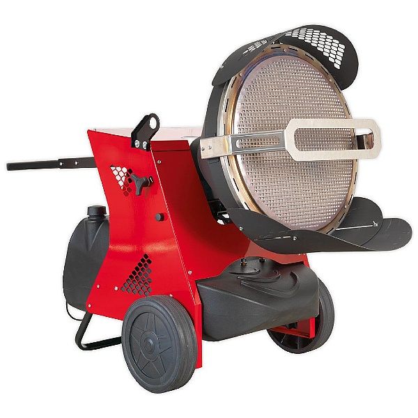 Sealey 45.5kW 230V Infrared Paraffin/Kerosene/Diesel Heater