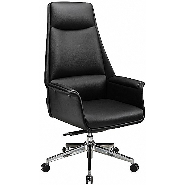 Porto High Back Bonded Leather Manager Chair