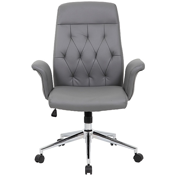 Retro Bonded Leather Office Chair
