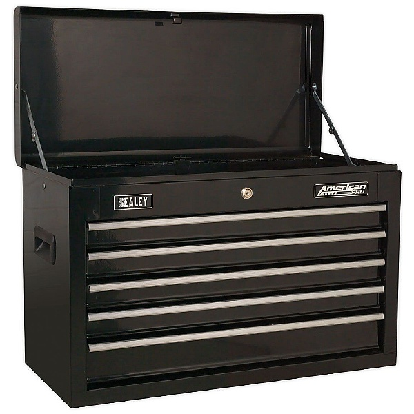 Sealey American Pro 5 Drawer Topchest With Ball Bearing Slides