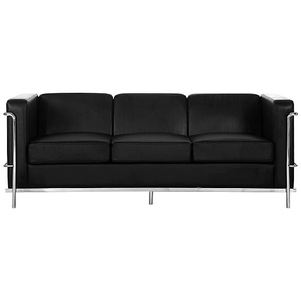 Pisa Bonded Three Seater Sofa