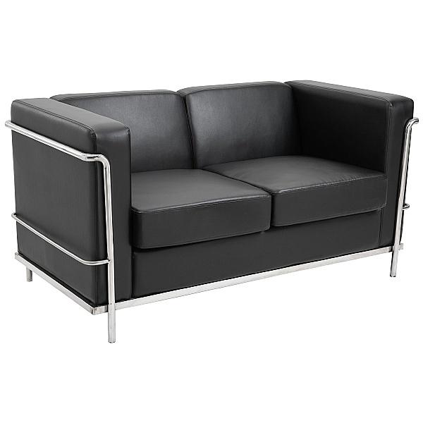 Pisa Bonded Two Seater Sofa