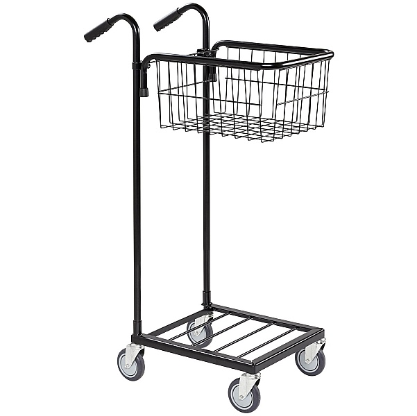 Konga Mini Mail and Picking Trolley with 1 Basket