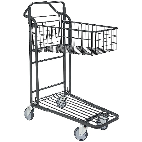 Konga Nesting Stock Trolley with Fixed Basket