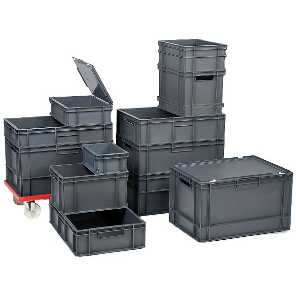 Euro Stacking Container 52L Packs - 400W x 600D x 270H