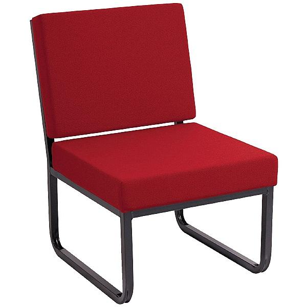 Budget Heavy Duty Skid Base Reception Chair