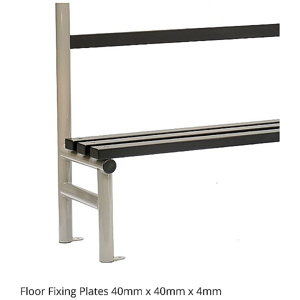 Single Sided Cloakroom Benches