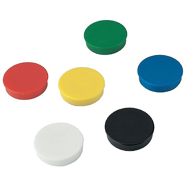 Coloured Magnets (Pack of 10)