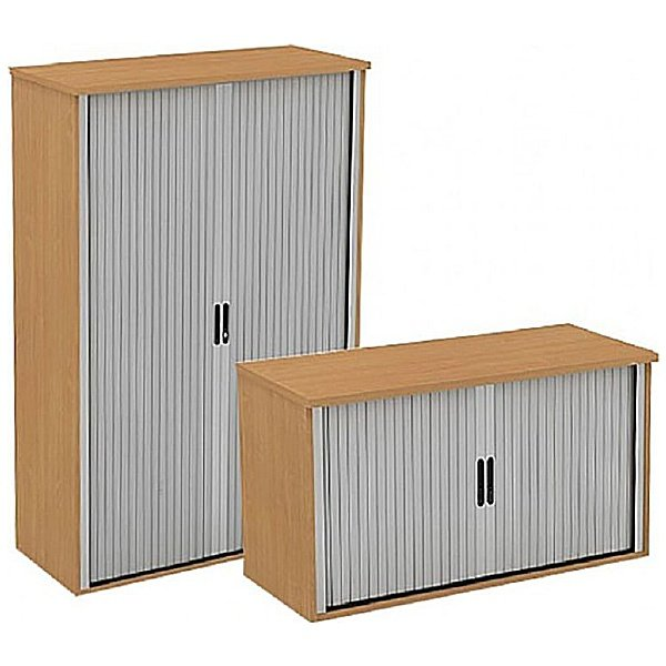 Alpha Plus Side Tambour Cupboards