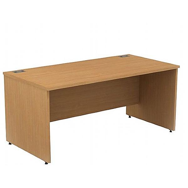 Alpha Plus Panel End Rectangular Desk