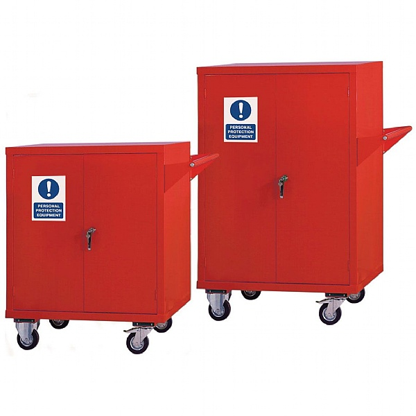 Mobile PPE Storage Cupboards