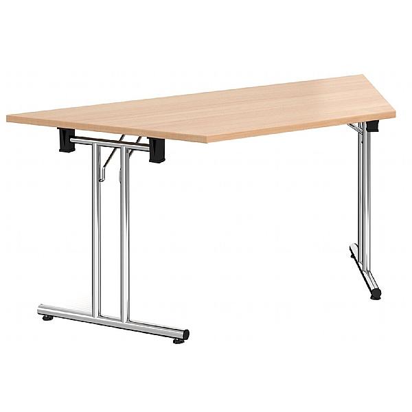 NEXT DAY Trapezoidal Chrome Folding Tables